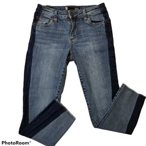 KUT from the Kloth 00 Reese Ankle Straight Jeans
